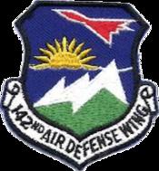 142d Air Defense Wing - Emblem