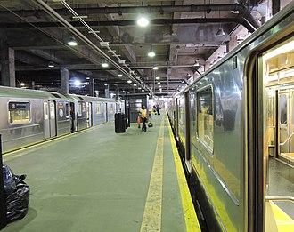 Harlem–148th Street (IRT Lenox Avenue Line) - View of platform at Harlem–148th Street