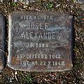 15-03-08 Stolpersteine Lindenthal Bachemer Strasse 95 Josef Alexander.jpg