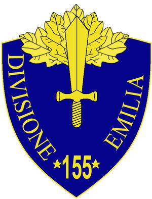 155th Infantry Division Emilia - 155th Infantry Division Emilia Insignia