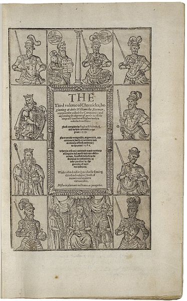 File:1587 printing of Holinshed's Chronicles.jpg
