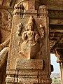 15th-16th century Vaishnavism Vitthala temple Kurma avatar, Hampi Hindu monuments Karnataka.jpg