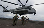 15th MEU Marines fast rope on board Peleliu 121005-N-ZM744-364.jpg