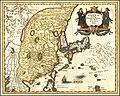 1636 map of China, Japan and Korea by Matthäus Merian.jpg