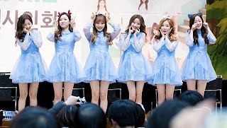 April discography discography of South Korean girl group