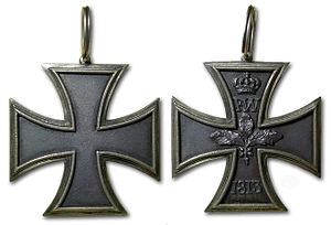 Grand Cross of the Iron Cross - 1813 Grand Cross of the Iron Cross.