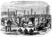 1863 Meeting of Settlers and Maoris at Hawke's Bay, New Zealand large.png