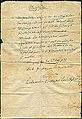 1866-07-23 Marschroute Feldapotheker Friedrich Sahlfeld, Langensalza, Order Leutnant 2tes Magdeburgisches Landwehr-Regiment Nr. 27.jpg