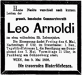 1898-05-05 NFP Leo Arnoldi (Todesanzeige).png