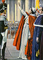 18 July 1846, Pope Pius IX declares an amnesty.jpg
