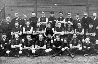 Norwood Football Club - Image: 1907 Norwood premiership team
