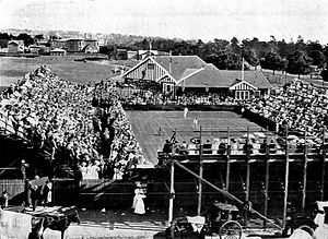 1908 International Lawn Tennis Challenge - 1908 Davis Cup Challenge Round match between Australasia and the United States at the Albert Ground, Melbourne, Australia on 27–30 November 1908