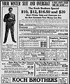 1910 - Koch Brothers Newspaper Ad Allentown PA.jpg