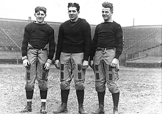 1916 Penn Quakers backfield