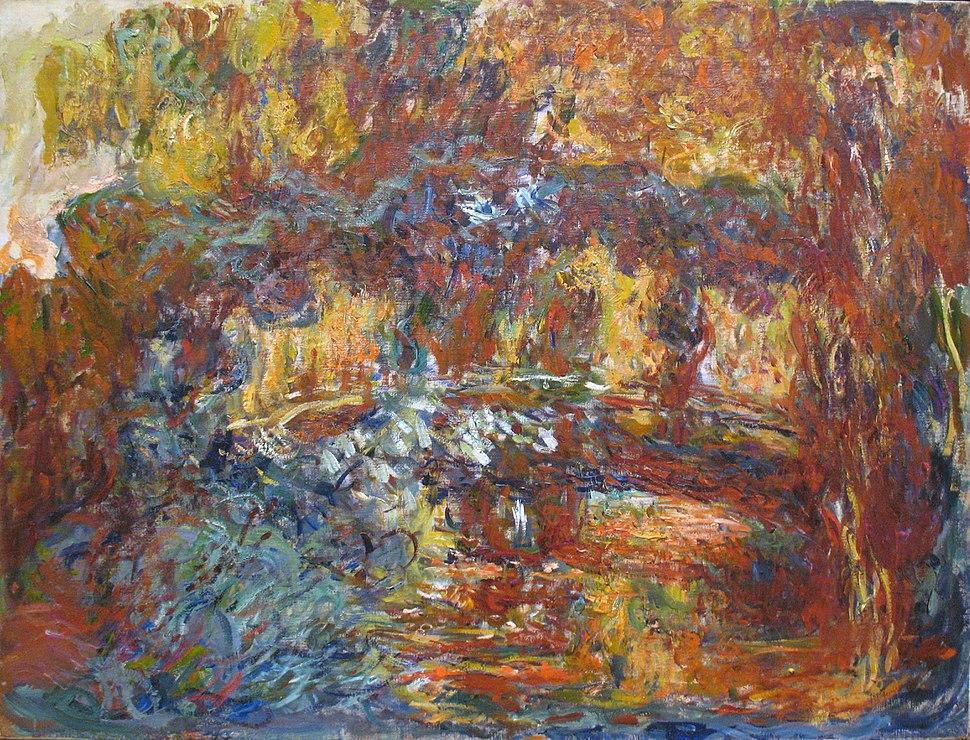 1920-22 Claude Monet The Japanese Footbridge MOMA NY anagoria