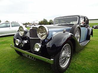Lancefield Coachworks - Alvis Speed Twenty SD 4-door sports saloon 1936