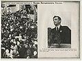 1938. Алексей Стаханов передает донбассовцам приветствие от Иосифа Сталина.jpg