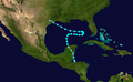 1938 Atlantic tropical storm 7 track.png
