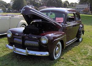 1941 Ford - 1942 Ford Super Deluxe Tudor Sedan