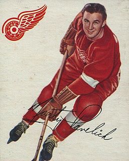Marty Pavelich Canadian ice hockey player