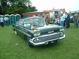 Chevrolet Biscayne - 1958 Chevrolet Biscayne 4-door sedan Former Irish government State Car, RHD