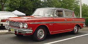 Rambler Classic - 1961 Rambler Classic 4-door sedan