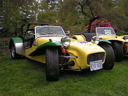 A 1965 Lotus Seven Series II