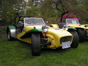 Lotus Seven - Image: 1965Lotus Seven Series II