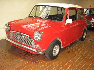 Mini - Chilean fibreglass-bodied Mini