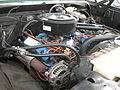 1977 Dodge Power Wagon V8 engine (14129141400).jpg