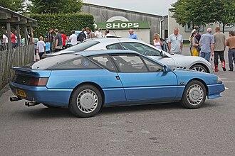 Renault Alpine GTA/A610 - 1988 Renault GTA Turbo (UK), rear view