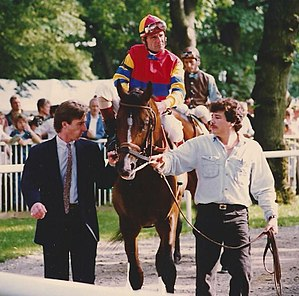 A.P. Indy - A.P. Indy before the 1992 Belmont