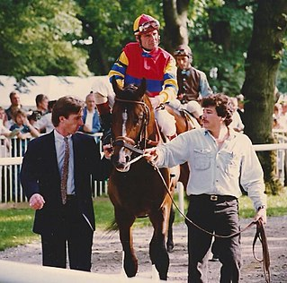 Eddie Delahoussaye American jockey