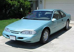 Ford Thunderbird (tenth generation) - 1994 Ford Thunderbird LX (with aftermarket headlights)