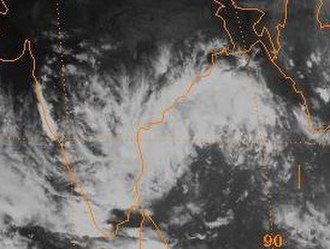 1998 North Indian Ocean cyclone season - Image: 1998 Deep Depression Three