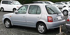 1999-2002 NISSAN March rear.jpg