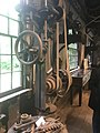 19th century machinery at Copake Iron Works Historic District museum.jpg