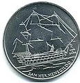 1 песо. Куба. 2008. Корабли - Сан Герменегильд.jpg