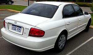 Hyundai Sonata - 2001 facelift (EF-B)