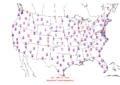 2006-02-18 Max-min Temperature Map NOAA.png