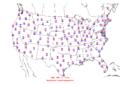 2006-04-13 Max-min Temperature Map NOAA.png