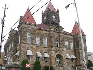Wetzel County, West Virginia - Image: 2006 10 05 10 41 03newmartinsvillecou rthouse
