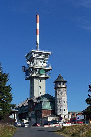Klínovec - Image: 20070923 Klínovec Krušné hory