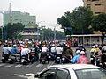 2007TaipeiCarFreeDay TrafficJam LittleSouthGate.jpg