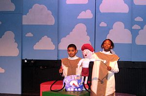 A Very Merry Unauthorized Children's Scientology Pageant - The E-meter, as described in a puppet show, 2007 Philadelphia production