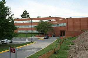 The Criminal Justice Building at North Carolin...