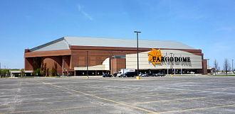North Dakota State Bison football - The Fargodome