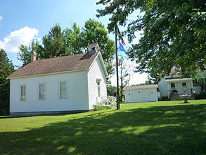 Shawano, Wisconsin - The Shawano County Historical Society operates a museum with several restored, historic buildings.