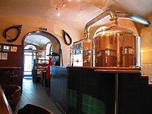 Typical Viennese microbrewery