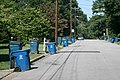 2011-08-10 Trash bins on curb along Maynard Ave in Durham.jpg